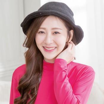 Wonderland 韓國東大門羊毛保暖針織毛線帽-黑