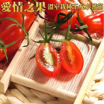坤田水果 溫室栽種玉女小蕃茄 600克