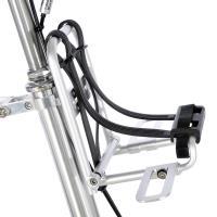 CarryMe 鋁合金折疊前貨架組-噴砂陽極銀