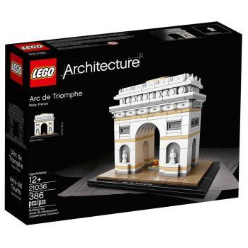 【 樂高積木 LEGO 】《 LT21036 》ARCHITECTURE 世界建築系列 - 凱旋門