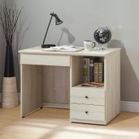 Bernice-威德3.2尺三抽半開放式書桌