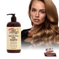 Palmers 帕瑪氏 天然乳木果油髮芯修復洗髮乳473ml(染燙/自然捲/捲髮拉直受損髮專用)
