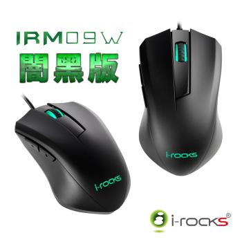 i-Rocks IRM09W三段式DPI電競滑鼠(二入組)