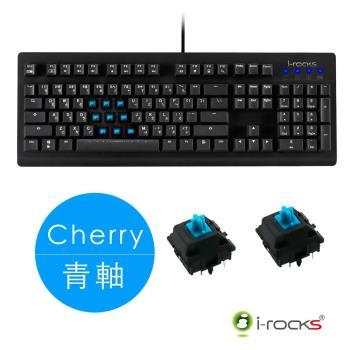 i-Rocks IRK65MN 機械式電競鍵盤-德國Cherry青軸