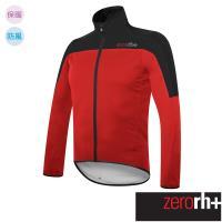 ZeroRH+ 義大利 SPACE 男仕專業刷毛自行車外套 ●紅色、黑色● ICU0466