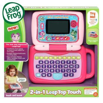 美國[LeapFrog跳跳蛙] 翻轉小筆電-粉