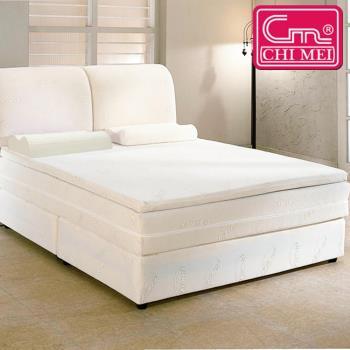 CHI MEI 純天然乳膠 單人加大床墊(3.5*6.2尺)