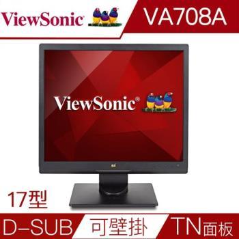 【優派ViewSonic】VA708a 17吋5:4寬螢幕
