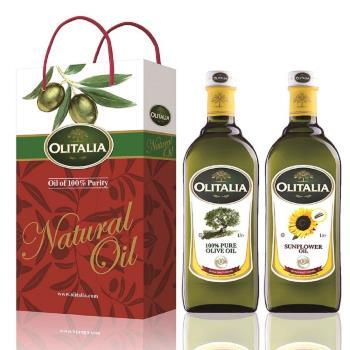 Olitalia奧利塔-綜合油品禮盒 橄欖油+葵花油各1瓶