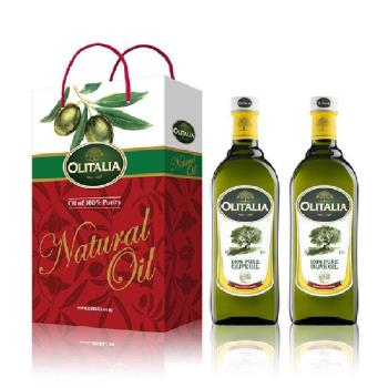 Olitalia奧利塔-橄欖油禮盒2組(2瓶橄欖油/盒);共4瓶