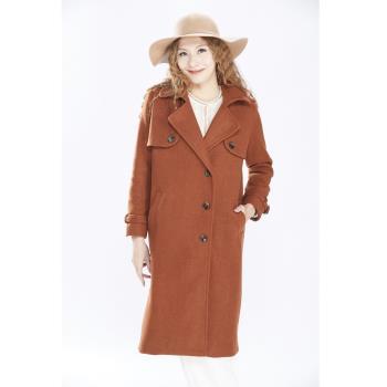 JOYJOY外銷歐洲訂製款高山羊毛大衣