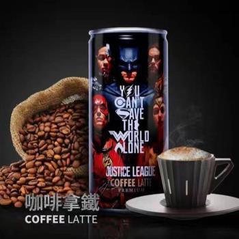 OCEAN BOMB 正義聯盟咖啡拿鐵-大集合 210ml *24罐