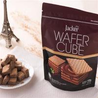 JACKER傑可 巧克力方形威化酥150g x12包