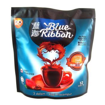 藍迦 特濃怡保白咖啡3合1-微甜12入 x3袋