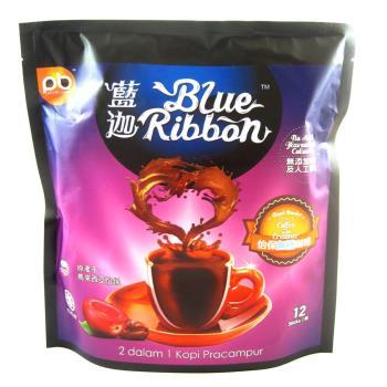 藍迦 怡保白咖啡2合1-無糖12入 x3袋