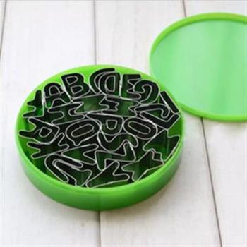 【inBOUND】26個英文字母餅乾模具組