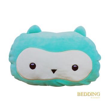 BEDDING-【貓頭鷹-綠】多款超人氣-超彈力多功能暖手枕