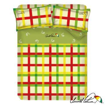 Arnold Palmer雨傘牌 田園交響曲-40紗精梳純棉床包被套雙人四件組