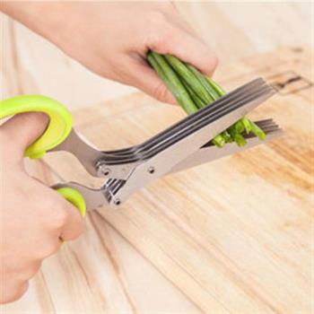 【inBOUND】多用5層剪刀/食材料理剪/文件碎紙剪