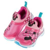 《布布童鞋》Disney迪士尼米妮亮彩粉色兒童運動鞋(15~20公分) [ M7R062H ] 桃色款