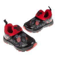 《布布童鞋》Disney迪士尼米奇亮彩黑色兒童運動鞋(15~20公分) [ M7S062D ] 黑色款