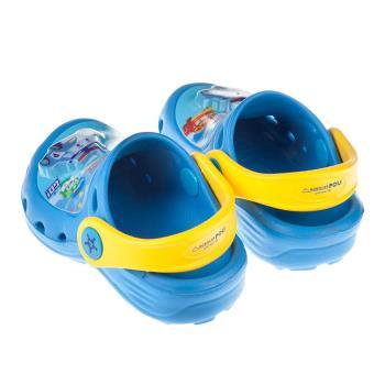 《布布童鞋》POLI救援小英雄波力藍色兒童發光電燈布希鞋(15~20公分) [ B7T056B ] 藍色款