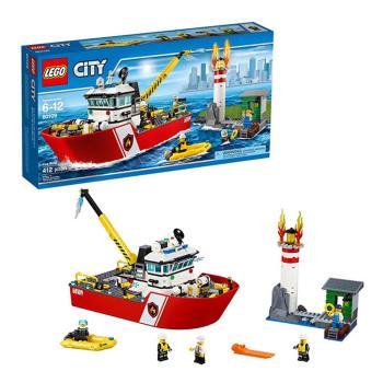 樂高【LEGO】L60109City系列-消防船