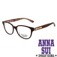 Anna Sui安娜蘇日本Dolly Girl系列朝流光學眼鏡迷彩花卉款‧四色 DG518