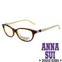 Anna Sui安娜蘇日本Dolly Girl系列朝流光學眼鏡立體雕刻愛心款‧四色 DG514