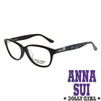 Anna Sui安娜蘇日本Dolly Girl系列朝流光學眼鏡經典兩色圖騰款‧兩色 DG511