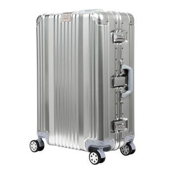 日本 LEGEND WALKER 1510-70-29吋全鋁鎂合金行李箱 合金銀