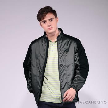 【ROBERTA諾貝達】台灣製 防潑水 厚舖棉熟男夾克外套 灰色