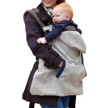DF 童趣館 - 加厚式嬰兒背帶專用保暖披風