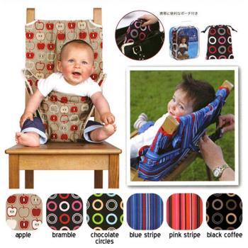 DF 童趣館 - 可攜式兒童餐椅安全帶/安全椅套-共5色