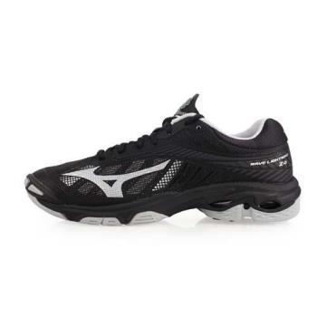 MIZUNO WAVE LIGHTNING Z4 男排球鞋-排球 美津濃 黑銀