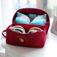 DF Queenin - 旅行多功能貼身內衣褲收納袋-共3色