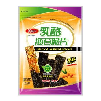 美味田 乳酪海苔脆片36g x5包(原味/辣味)