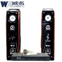 WEMAN威名 主動式RMVB/USB多媒體卡拉OK歡唱組WLS-358P+AT-101