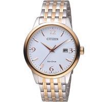 星辰 CITIZEN GENTS時尚簡約光動能腕錶 BM7304-59A