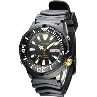 SEIKO Prospex 200M鮪魚罐頭潛水機械男錶-全IP黑(SRP641K1)