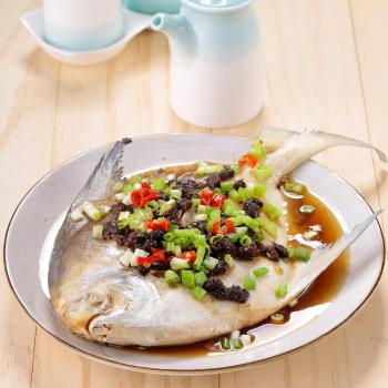 華得水產 鮮嫩野生白鯧魚4件(400-500g/尾)