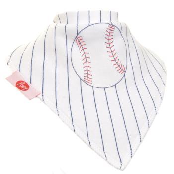 英國Zippy-幼兒時尚口水巾-棒球