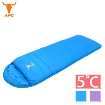 APC《馬卡龍》秋冬可拼接全開式睡袋-葡萄紫/寶石藍