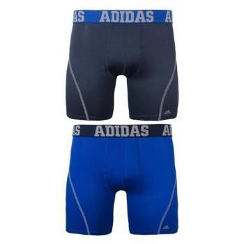 Adidas 男時尚Climacool瑪瑙黑藍色四角修飾內著混搭2件組(預購)