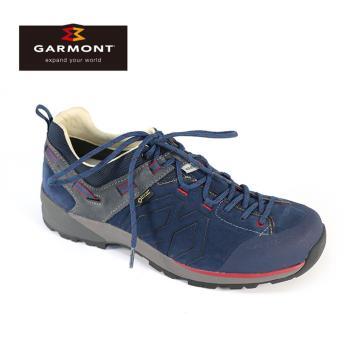 GARMONT 男款 低筒郊山健走鞋Santiago Low GTX 481241/213 藏青 / 城市綠洲(登山鞋、GORETEX、防水透氣、黃金大底)