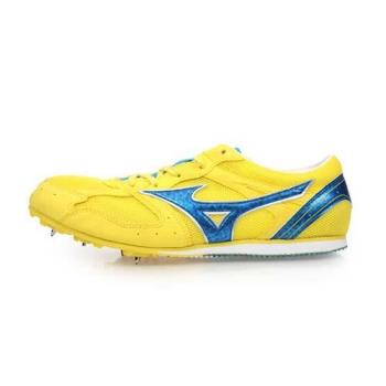 MIZUNO GEO SPLASH LX-1 男女田徑釘鞋-中長距離 美津濃 黃寶藍