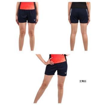 MIZUNO 女排球褲-排球 三分褲 短褲 美津濃 丈青白