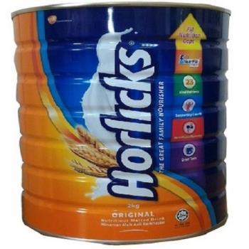 Horlicks好立克麥芽飲品2kg x4罐裝