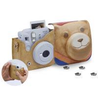 Kamera 皮質相機包for mini 8/8+/9 (熊)