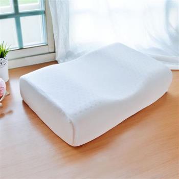 《贈毯》LooCa蝶型機能特大乳膠枕(1入)